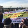 ممانعت نیروهای امنیتی از تجمع سهامگذاران کاسپین و آرمان در مقابل مجلس